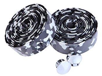 EVA ロード用 バーテープ クッション製に優れたEVA製バーテープ ロード ピスト ドロップハンドルバーテープ 全12色 (白・黒)