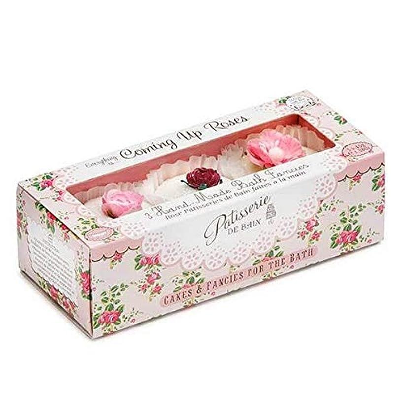腹部前書き換気する[Patisserie de Bain ] パティスリー?デ?ベインのすべてのバラ風呂は3×45グラムを溶かし - Patisserie de Bain Everything Roses Bath Melts 3 x 45g...