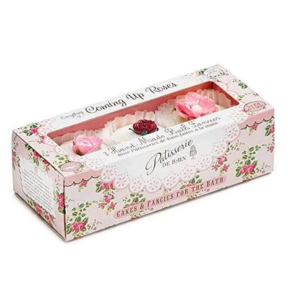 伝記静けさ驚かす[Patisserie de Bain ] パティスリー?デ?ベインのすべてのバラ風呂は3×45グラムを溶かし - Patisserie de Bain Everything Roses Bath Melts 3 x 45g...