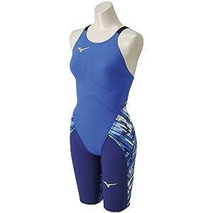 MIZUNO(ミズノ) レース用競泳水着 レディース GX-SONIC III ST ハーフスーツ FINA承認 N2MG620127 18春夏モデル サイズ:M ブルー N2MG6201 27:ブルー M