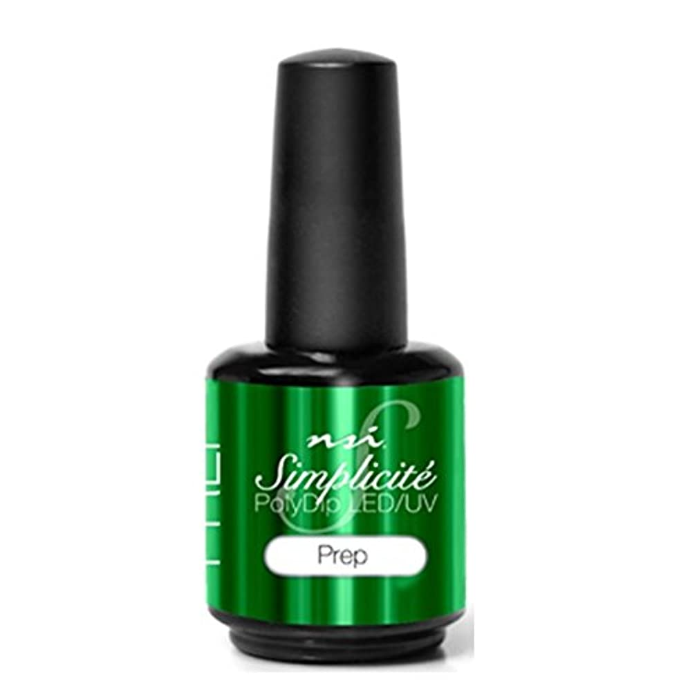 遠洋のジョージハンブリー側NSI - Simplicité PolyDip LED/UV Polish - Prep - 15 ml/0.5 oz