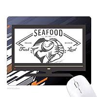 魚介類の魚の海洋生物 ノンスリップラバーマウスパッドはコンピュータゲームのオフィス