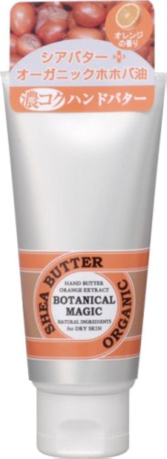 ベジタリアングラフィックうまくやる()ボタニカルマジック ハンドバター オレンジ 45g
