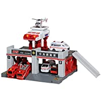 Tomica Tomica Town BuildサウンドライトCity Fire Station