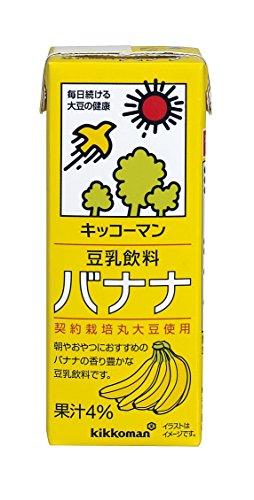 キッコーマン飲料 豆乳飲料 バナナ 200ml×18本
