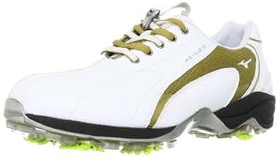 ミズノ(MIZUNO) レディース ドライスタイル 023 ゴルフスパイク 45KW023 ホワイト×ベージュ 26.0cm