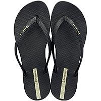 IPANEMA WOMENS CLASSICA WAVE FEM Flip Flops / Sandals-BLACK