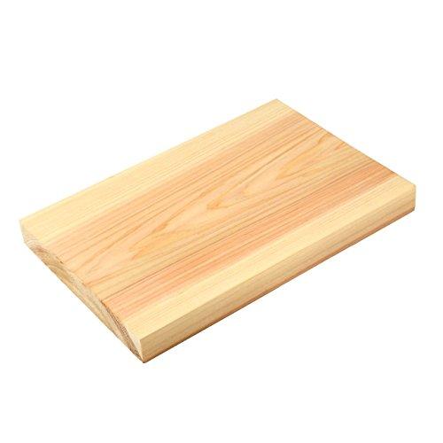 kicoriya 一枚板 国産 高級 檜 ひのき まな板 30cmx20cm