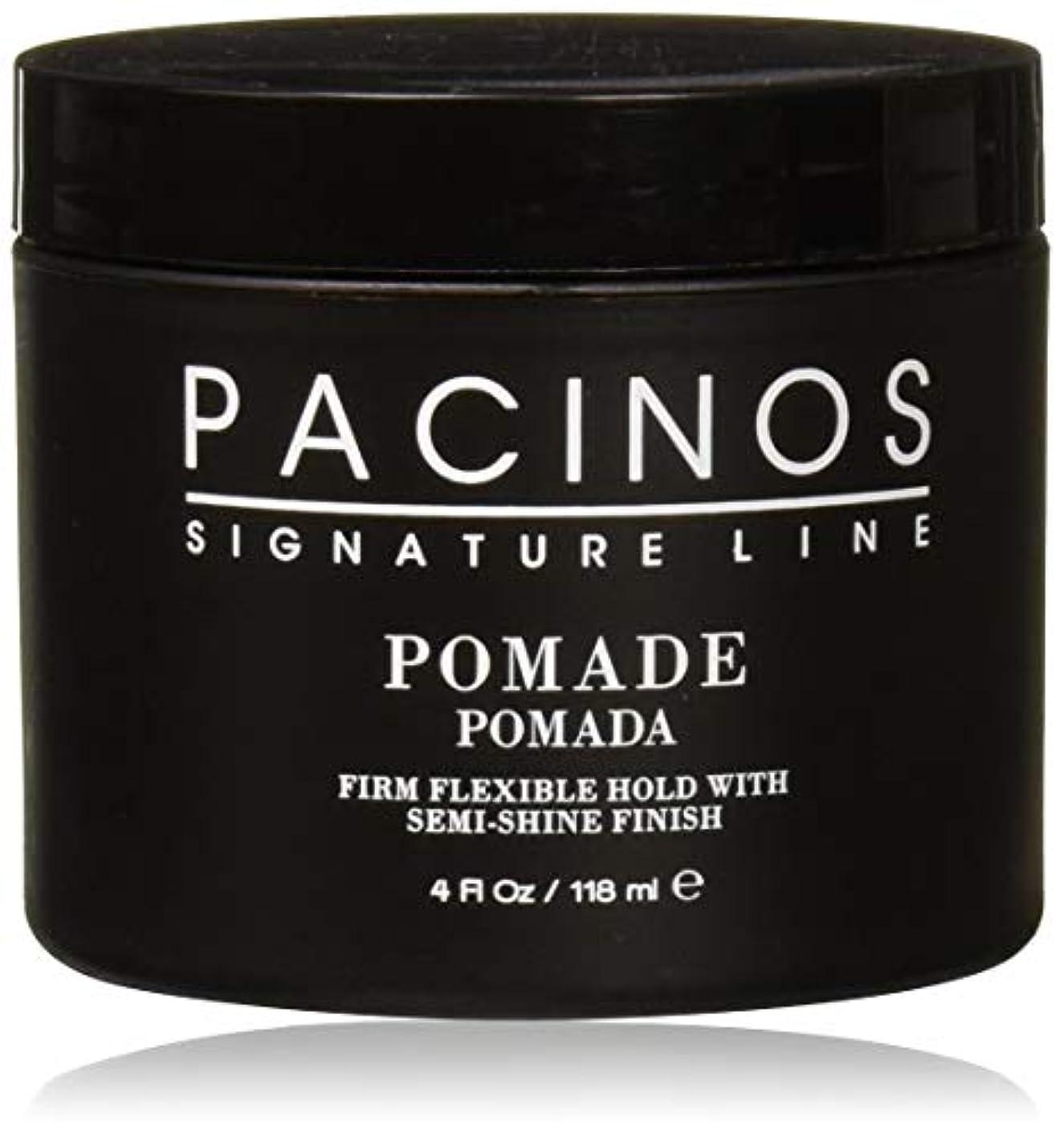 シンプルさ平行遵守するPacinos Pomade パチーノス?ポマード【日本正規品】4oz(118g)