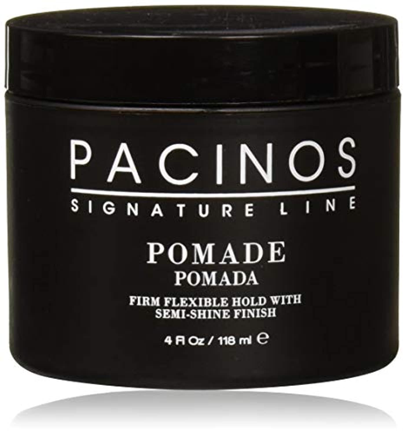 測る復活最終Pacinos Pomade パチーノス?ポマード【日本正規品】4oz(118g)