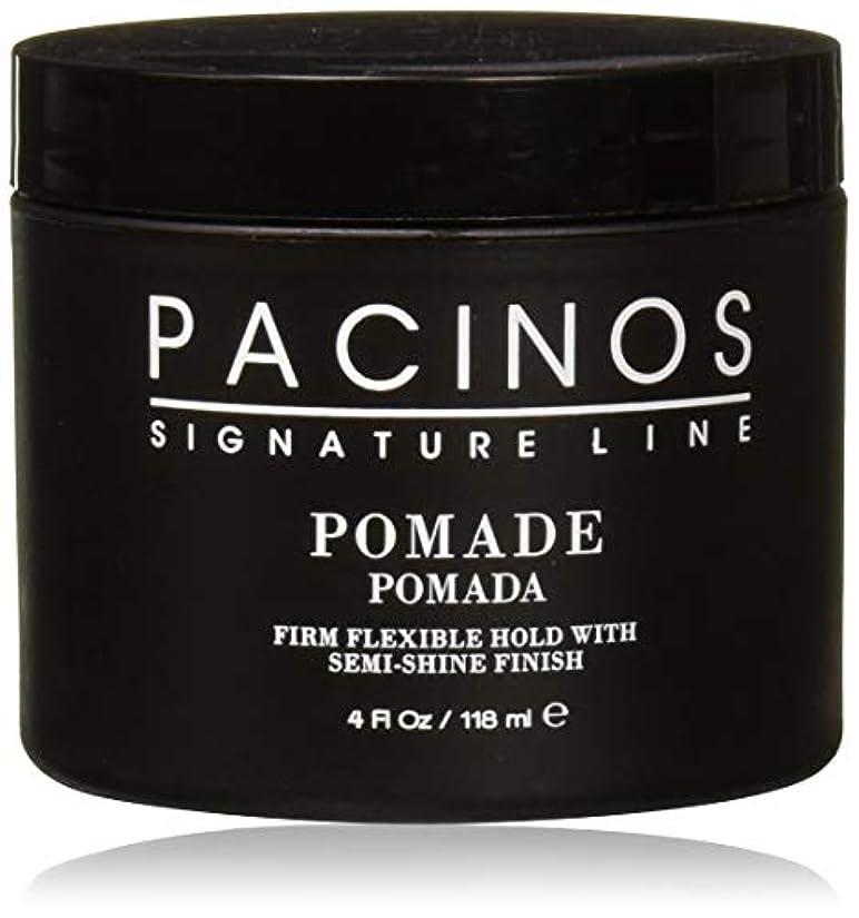 平らな始める仕方Pacinos Pomade パチーノス?ポマード【日本正規品】4oz(118g)