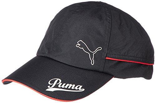 (プーマゴルフ)PUMA GOLF ゴルフウェア レインキャップ 866409 [ユニセックス] 866409 01 ブラック×ハイリスクレッド FREE