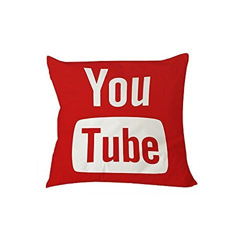 You Tube Cushion Cases ,best For Kitchen,monther,family,pub,dance Room,husband 20 X 30 Inches / 50 By 75 Cm(2 Sides)