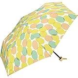 ワールドパーティー(Wpc.) 雨傘 折りたたみ傘 イエロー 50cm レディース 傘袋付き ムナ ミニ 7398-019 YE