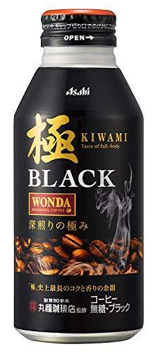 ワンダ 極 ブラック 400g ×24缶 アサヒ飲料