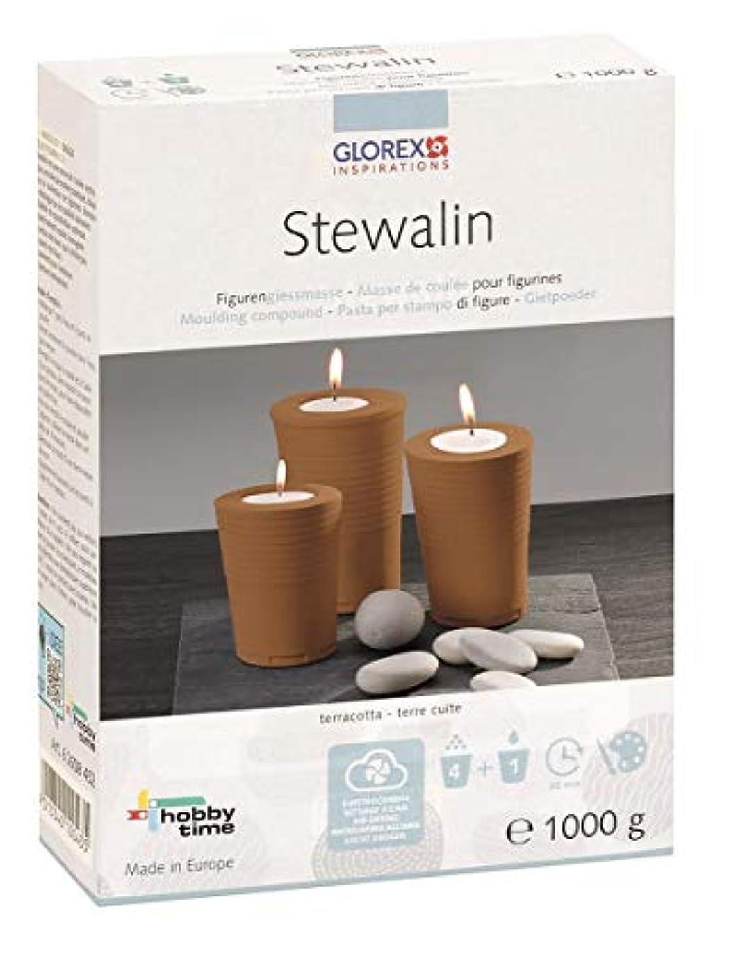 歴史直径可動Glorex Stewalin、モデルクレイ、テラコッタ、18 x 13.4 X 5.4 CMです