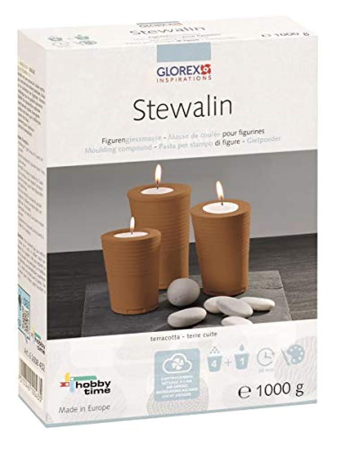 医薬品ツイン貢献Glorex Stewalin、モデルクレイ、テラコッタ、18 x 13.4 X 5.4 CMです