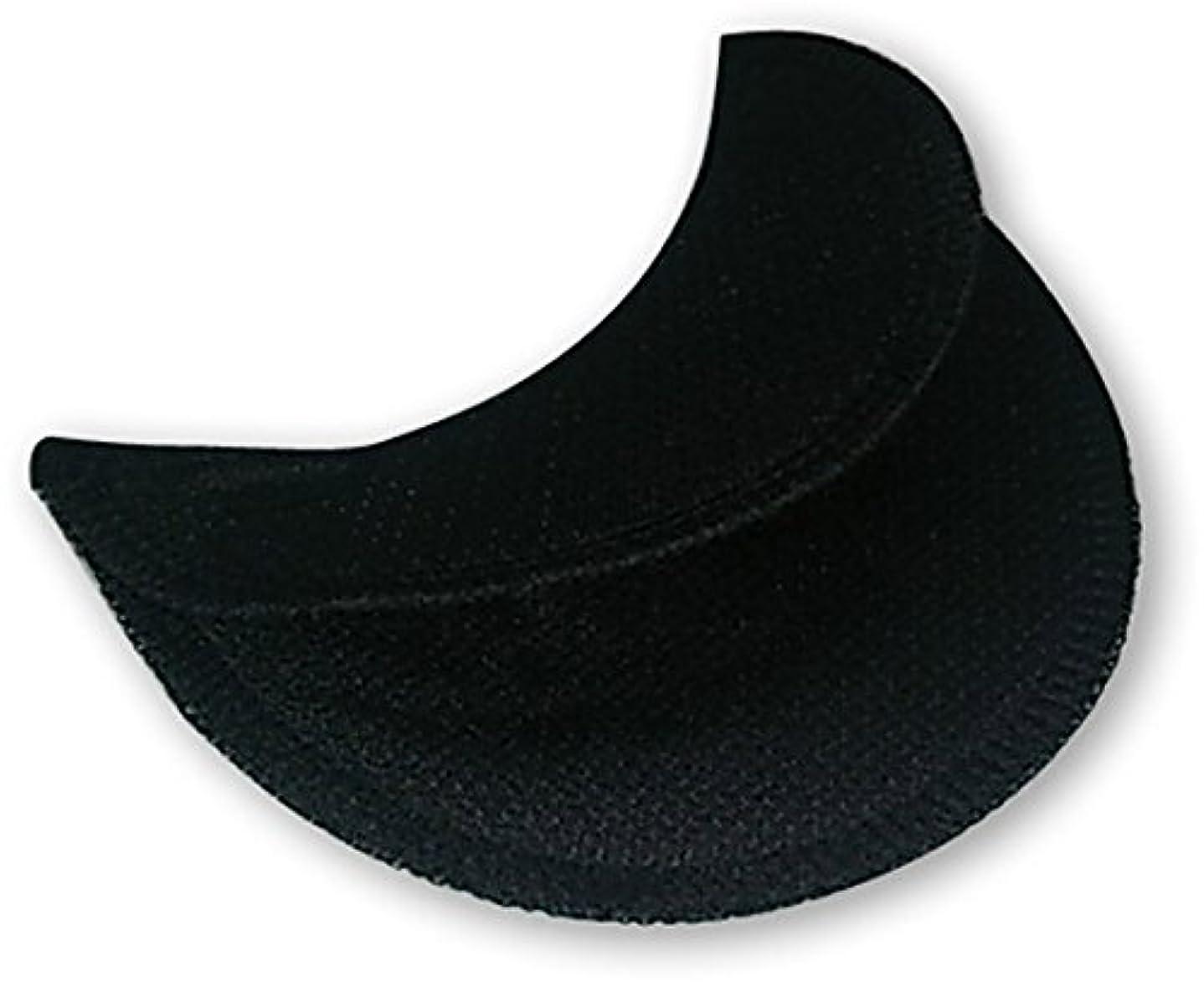 ぬるい特権的禁止する洗える脇汗????女性用 cool&dry 黒<2セット入(ボタン付き)>