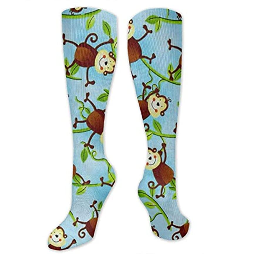 メニュー潜む海峡靴下,ストッキング,野生のジョーカー,実際,秋の本質,冬必須,サマーウェア&RBXAA Jungle Camp Monkeys Socks Women's Winter Cotton Long Tube Socks Cotton...