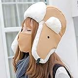 Tenflow ロシア帽 スキーウェア レディース フライトキャップ 女性用 目出し帽 防寒帽子 飛行帽 耳あて付き キッズ 021-xhdz-007 画像