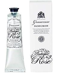 グランセンス ハンドクリーム アンティークローズ 40g(手肌用保湿 シアバター配合 日本製 カシスの青さとローズをミックスした印象深い香り)