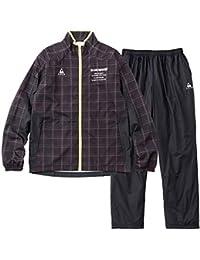 ルコックスポルティフ(le coq sportif) ウィンドジャケット&ロングパンツ 上下セット(ブラック/ブラック) QMMMJF21-BLK-QMMMJG21-BLK
