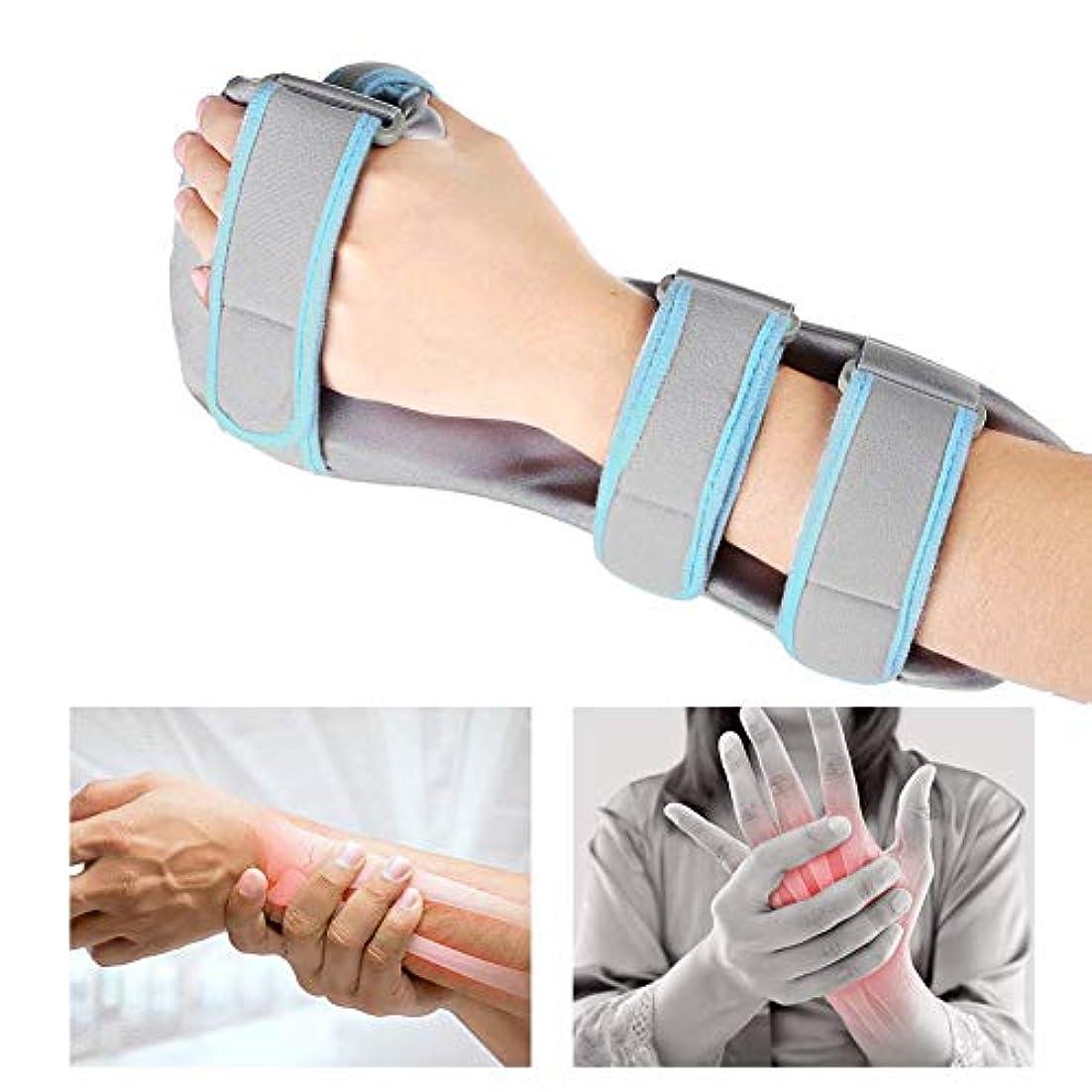 栄光統治する含める手首のサポート 手首の装具ハンドサポート骨折靭帯損傷手根管、捻and、関節痛の軽減-1pcs