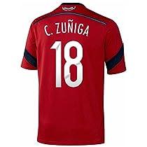 Adidas C. ZUÑIGA #18 Colombia Away Jersey World Cup 2014/サッカーユニフォーム コロンビア アウェイ用 ワールドカップ2014 背番号18 C.スニーガ (M)