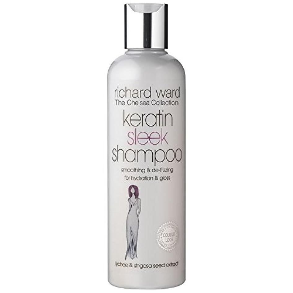 典型的なハリケーンどこにも[Richard Ward] リチャード区なめらかなシャンプー250Ml - Richard Ward Sleek Shampoo 250ml [並行輸入品]