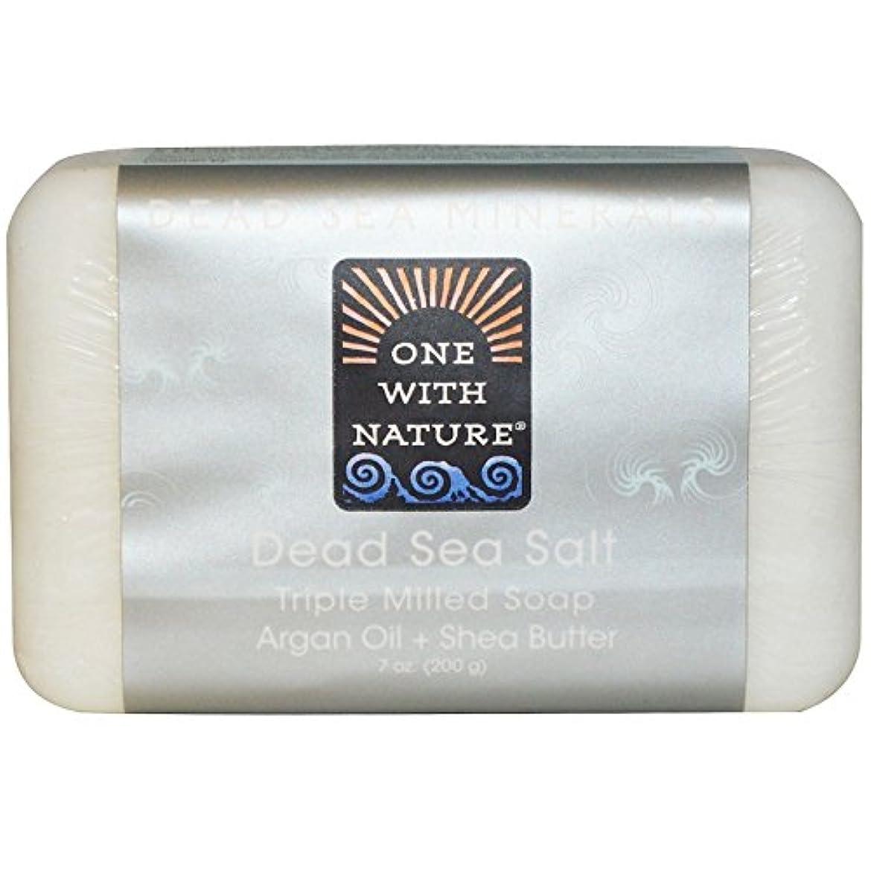 価値フェザーオープナーOne With Nature - 死海死海の泥を活性化させるミネラル棒石鹸 - 7ポンド [並行輸入品]