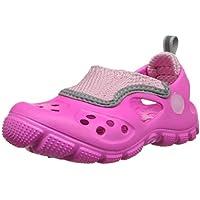 crocs Unisex Kids Micah II Sandal Neon Magenta/Carnation