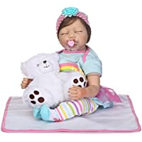 SanyDoll Rebornベビー人形ソフトSilicone 22インチ55 cm磁気Lovely Lifelike Cute Lovely Baby b0763llqmw