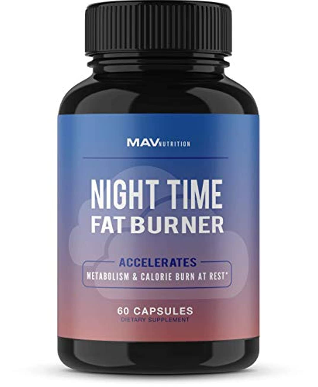 真っ逆さま安定しましたカリングMAV Nutrition Night Time Fat Burner 寝ながら脂肪燃焼 ダイエット サプリ 60粒 [海外直送品]