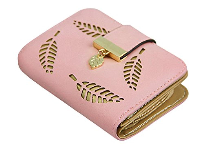 財布 レディース 二つ折り 可愛い ミニ財布 人気 小さい財布 ファスナー付き PUレザー おしゃれ ウォレット コンパクト 軽量 大容量 多機能 カードケース 小物入れ 小銭入れ 女性用 友達 家族にプレゼント