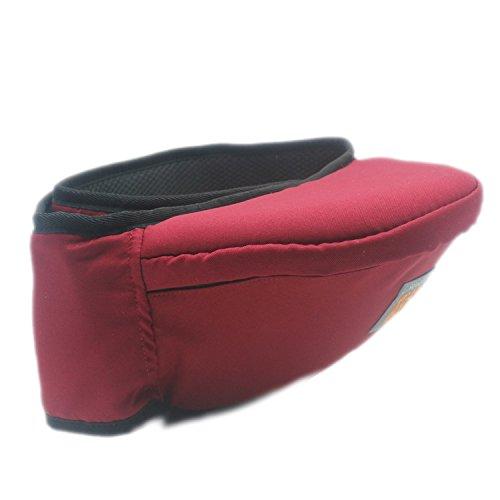 hotbestヒップシート 抱っこ紐 臀部シット ウエストキャリー 腰抱っこ 腰ベルト  着脱が簡単  腰負...