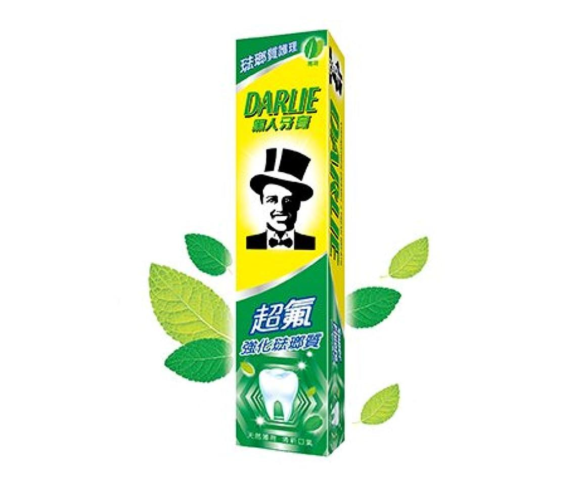 せっかち甘やかす損傷黒人 歯磨き粉 DARLIE 黑人牙膏 黑人超氟強化琺瑯質牙膏 50g [並行輸入品]