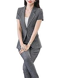 パンツスーツ 2点セット セットアップ テーラードジャケット 事務服 レディース ビジネス フォーマル 通勤 オフィス OL 就活 入学式 卒業式