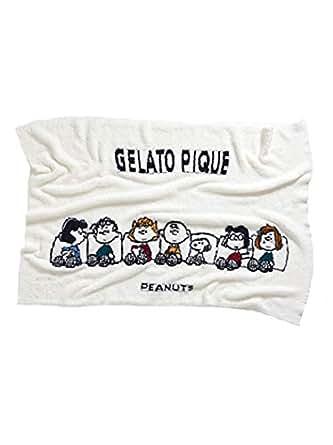 [ジェラート ピケ] 【Snoopy】JQD ブランケット レディース PWGG185770 OWHT 日本 日本 (Free サイズ)