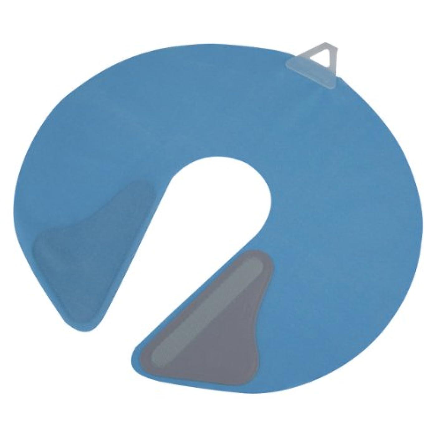 掻く闘争可塑性竹家 ネックシャッター ブルー