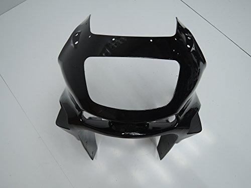 SUBA カワサキ/川崎用 カウル ブラック 外装パーツセット 適応モデル ZZR400 1993-2007 フルカウル