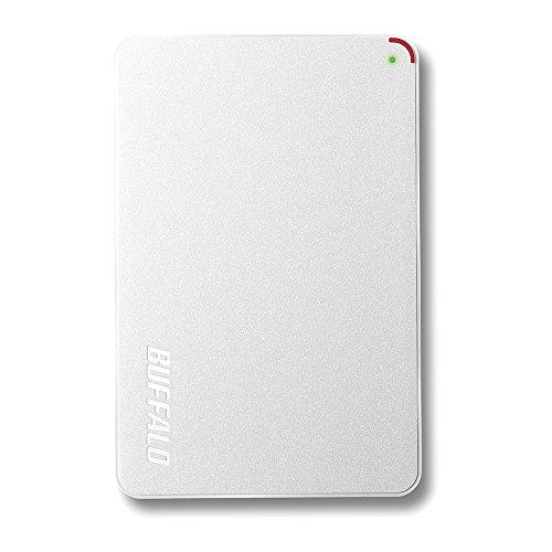 BUFFALO 2.5インチ(ポータブル) 外付けHDD 2TB ホワイト HD-PCF2.0U3-GWE