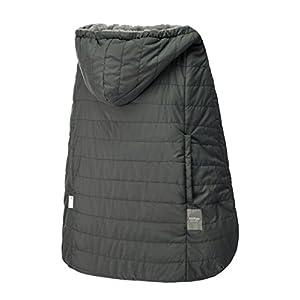 ベビーホッパー(BABYHOPPER) 抱っこひも 防寒 カバー 軽量 エルゴ ウインターマルチプルカバー/グレー はっ水 ベビーカーでも使える CKBH04010
