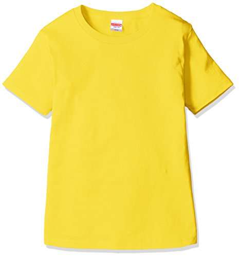 (ユナイテッドアスレ)UnitedAthle 5.6オンス ハイクオリティ Tシャツ 500103 [レディース] 190 カナリアイエロー G-M