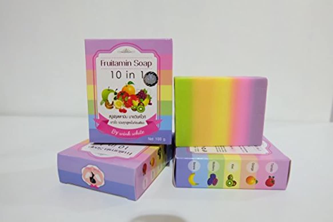 オークション平均是正するFRUITAMIN SOAP 10 IN 1 soap jelly cubes single vitamins park headlights course. Whitening Soap. 100 g. Free Shipping.