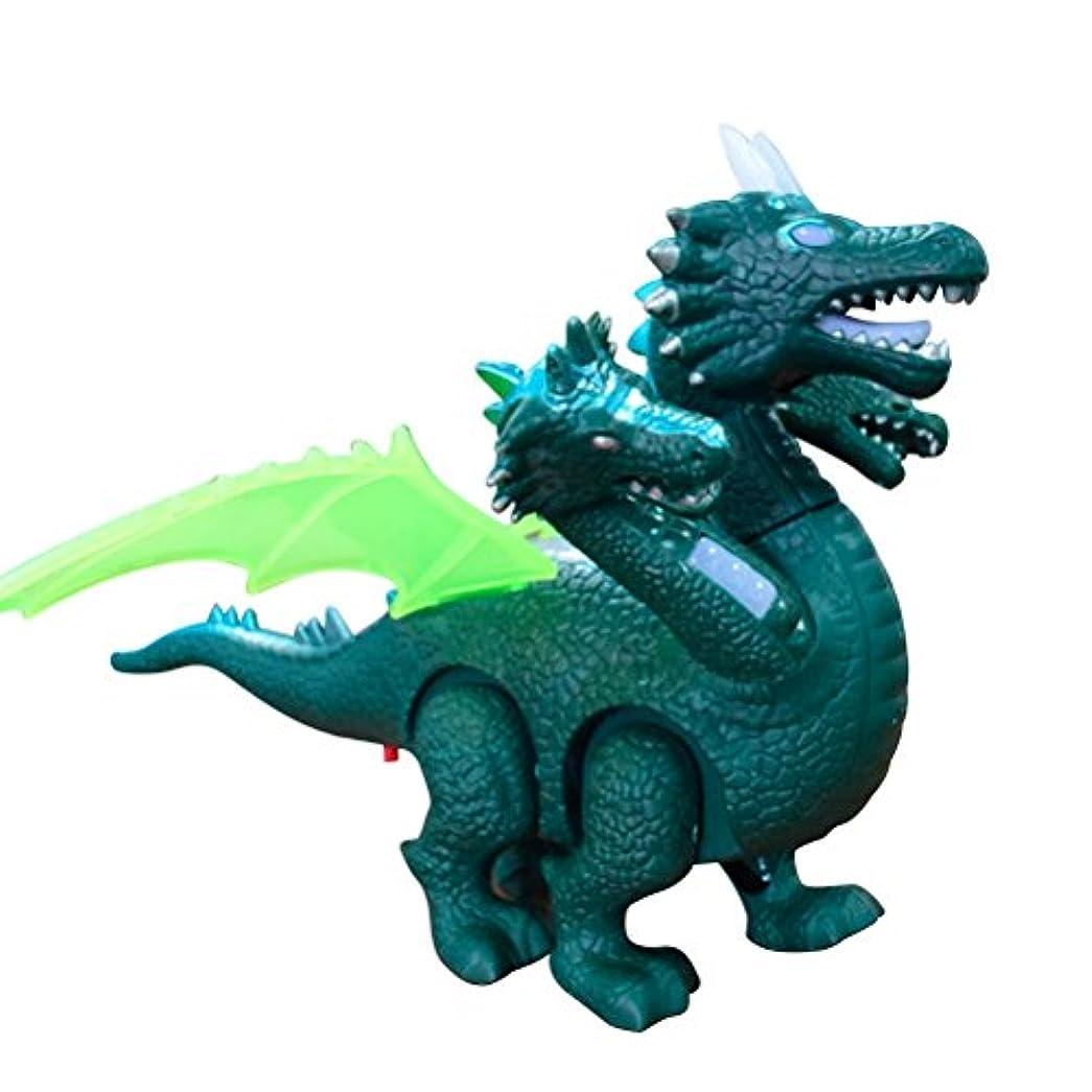 犯す前奏曲知覚できるTOYANDONA 現実的な恐竜のライトアップのシミュレーションウォーキング