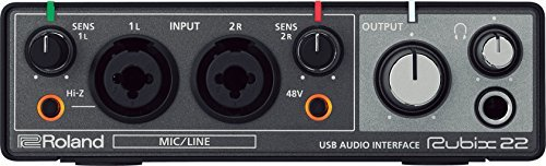 Roland RUBIX22 Rubix 22 USB Audio Interface 2 in/2 out [並行輸入品]