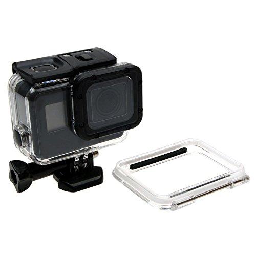 [해외]Xinvision 수심 60M 방수 케이스 용 GoPro Hero 6 | Hero 5 Black 카메라~ 수중 ?影 하우징 다이빙 보호 케이스 with 오픈 백 커버 카메라 부품/Xinvision water depth 60M waterproof case GoPro Hero 6 | Hero 5 Black camera~ underwater shadow ...