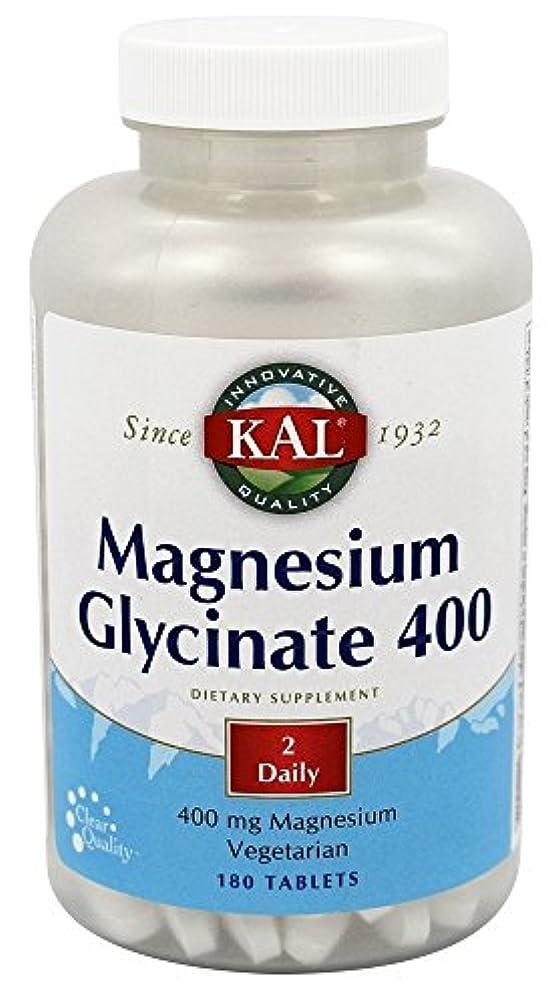 力強い長いですユーモアKal - マグネシウムグリシネート400 - 180錠剤