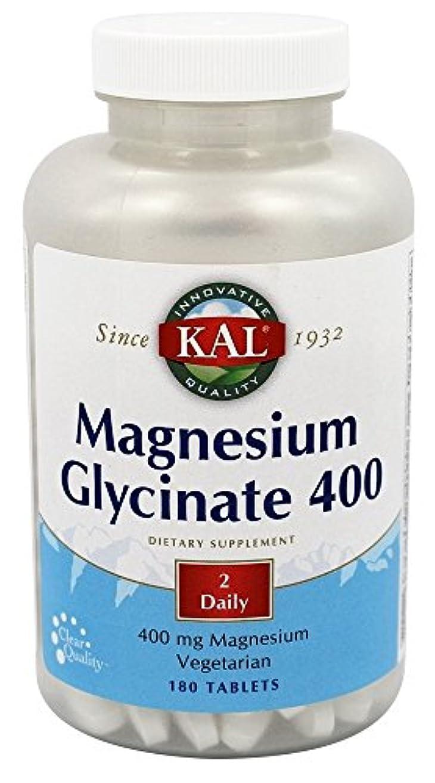 前にボタン売上高Kal - マグネシウムグリシネート400 - 180錠剤