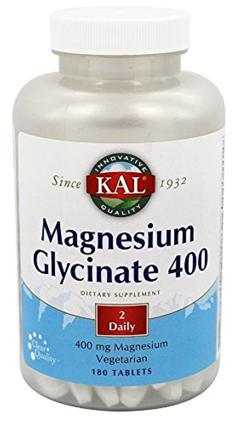 断言するトーナメントインシデントKal - マグネシウムグリシネート400 - 180錠剤